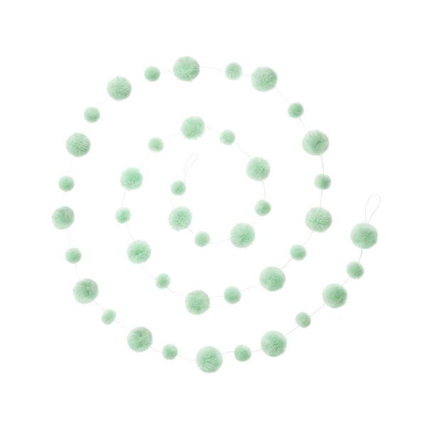 Mint Pom Pom Garland 1