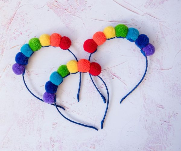 Pom Pom Alice Hair Bands 4