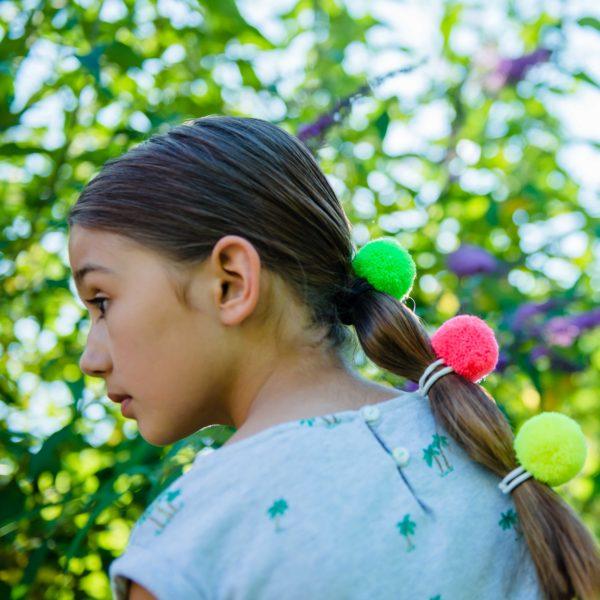 Pom Pom Hair Bobbles by PomPom Galore