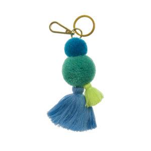 Pom Pom and Tassel Key Rings 6