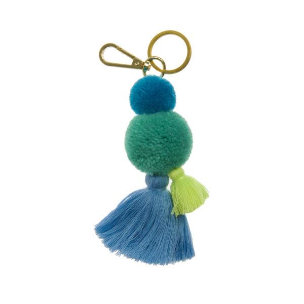 Pom Pom and Tassel Key Rings 1