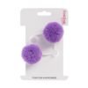 double hair bobble lilac