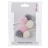 Mini Pom Pom Hair Bobble - Trio 2