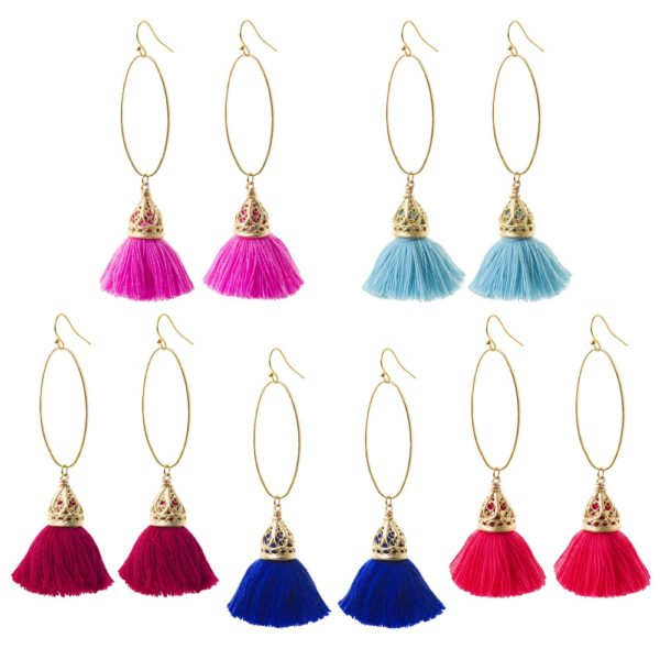 Penelope Tassel Earrings