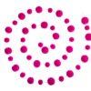 PomPom Galore Neon Pink pom pom garland