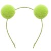 PomPom Galore new neon lime alice band
