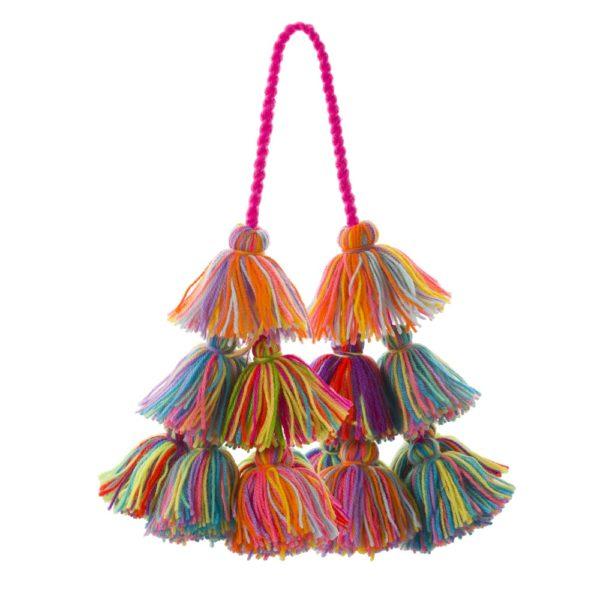 Wool Tassel Bag Swag 1