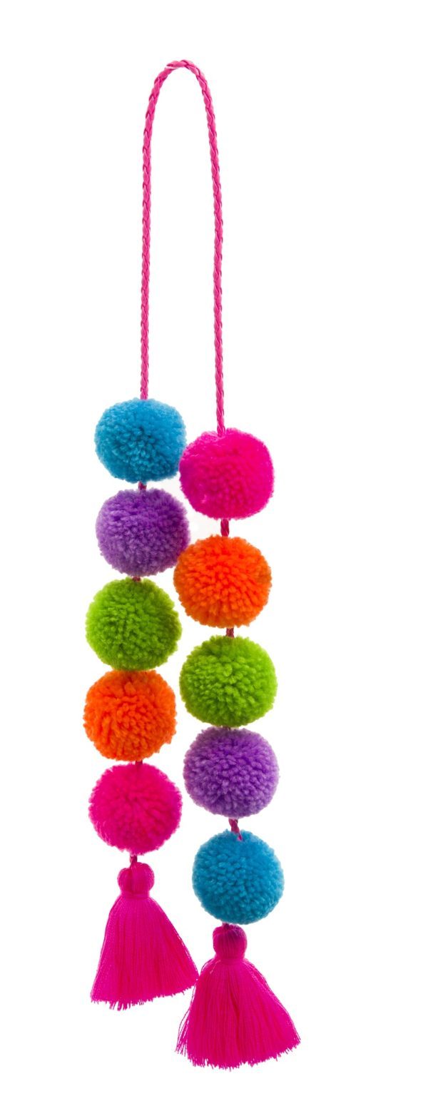 Pom Pom and Tassel Bag Swag 1