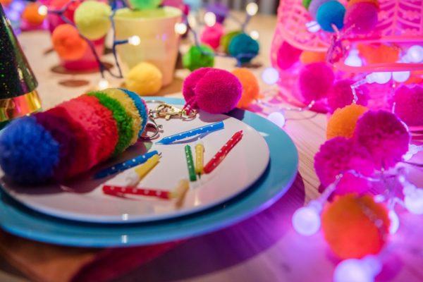 Party pom pom's