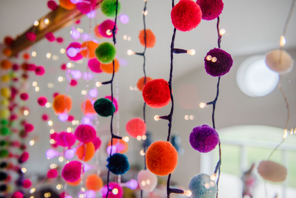 Pom Pom Light Chains Gallery 9