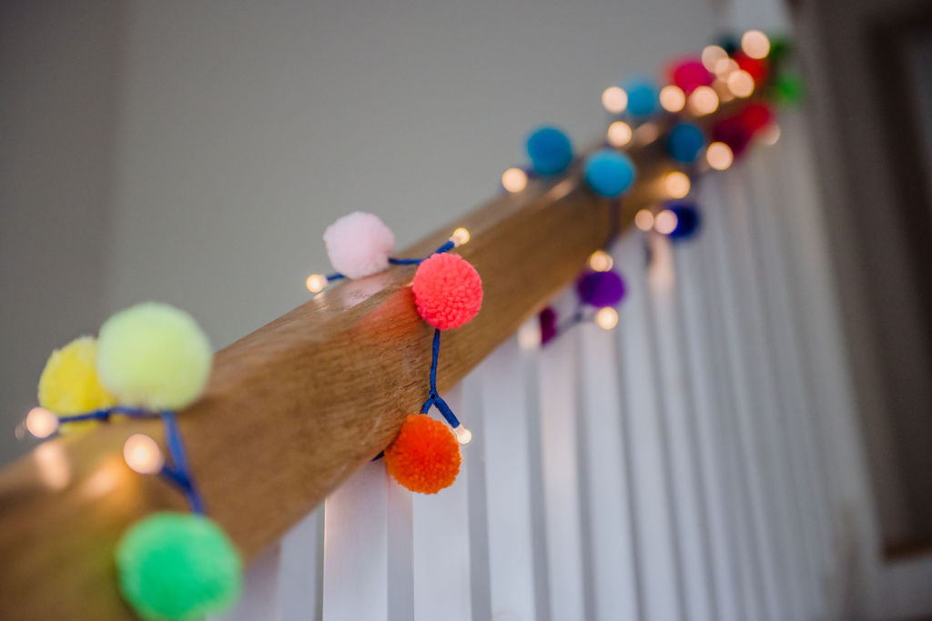 Pom Pom Light Chains Gallery 8