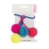 Pom pom Dangle hair bobble low