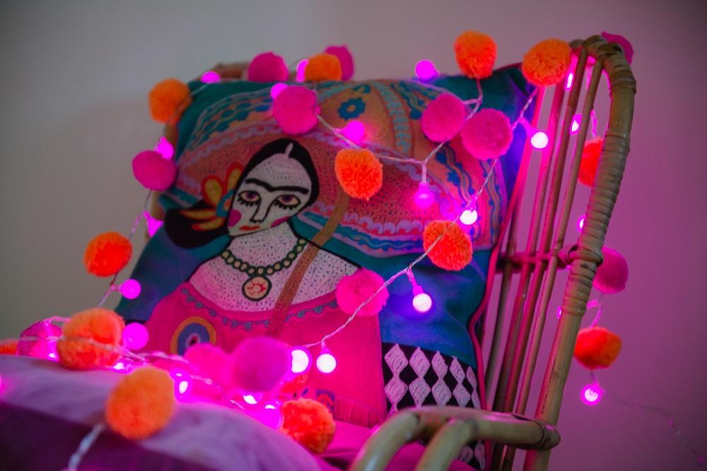 Pom Pom Light Chains Gallery 7