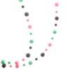 pastels pom pom garland hanging